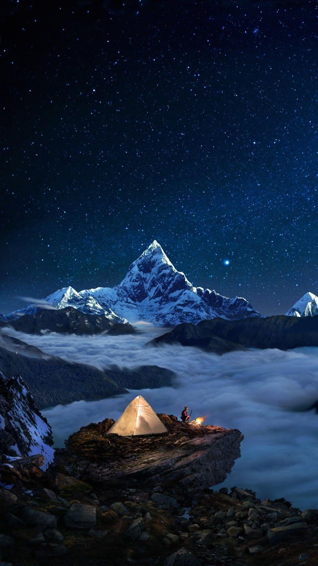Необычные картинки гор и природы для заставки телефон - сборка 3