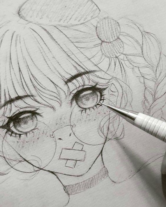 Необычные черно-белые картинки, рисунки для срисовки - сборка 10