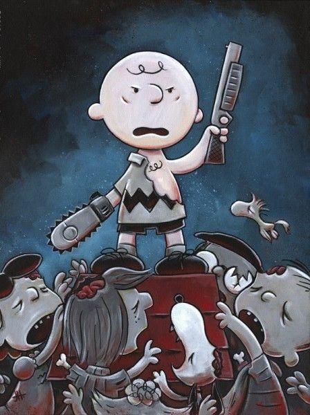 Прикольные и интересные картинки с Зомби или про Зомби - сборка 18