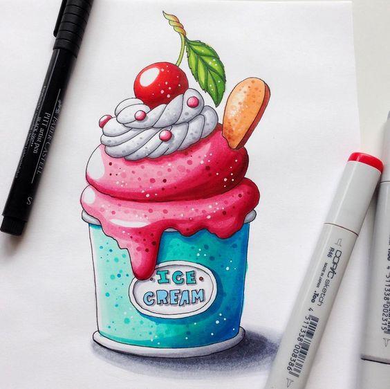 Прикольные и красивенькие рисунки для срисовки детям - подборка 4