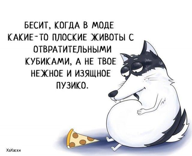 Прикольные и смешные комиксы из жизни Хаски Карла - подборка 32 картинки 20