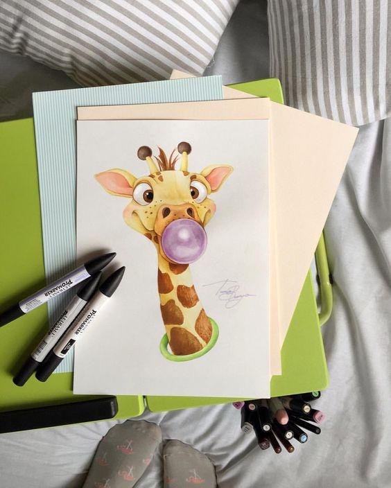 Самые красивые нарисованные рисунки животных - 25 картинок 2