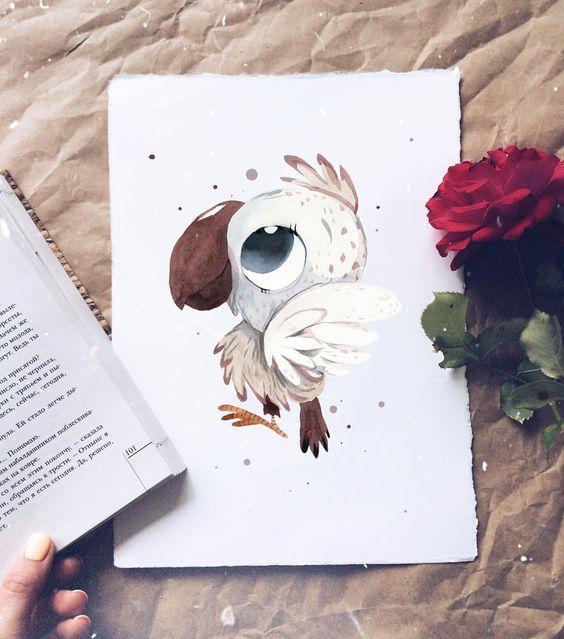 Самые красивые нарисованные рисунки животных - 25 картинок 23