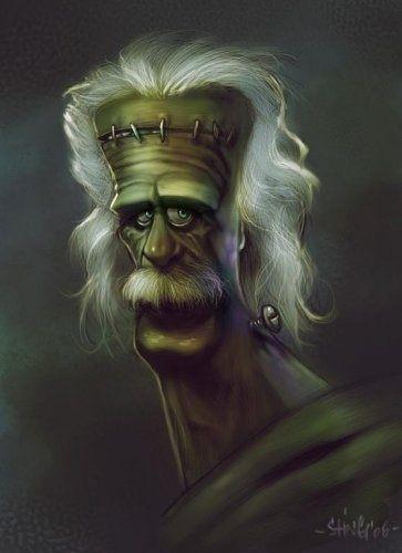 Классные и крутые картинки, арты, фото Франкенштейна - подборка 1