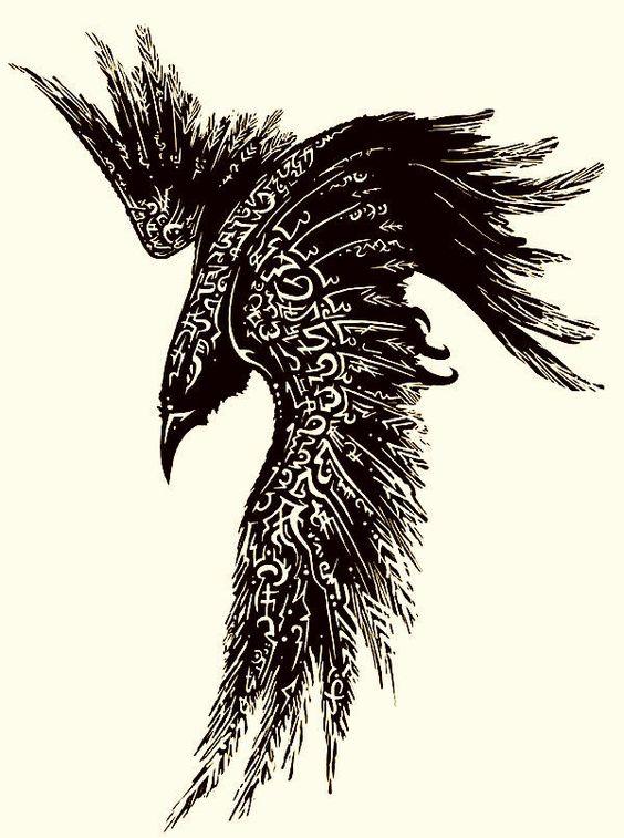 Классные и крутые картинки воронов, фото воронов - подборка 13