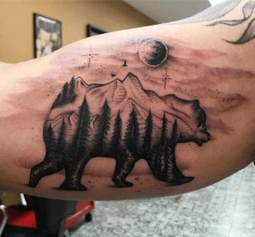 Классные и крутые татуировки на руках и на бицепсе - картинки, фото 11