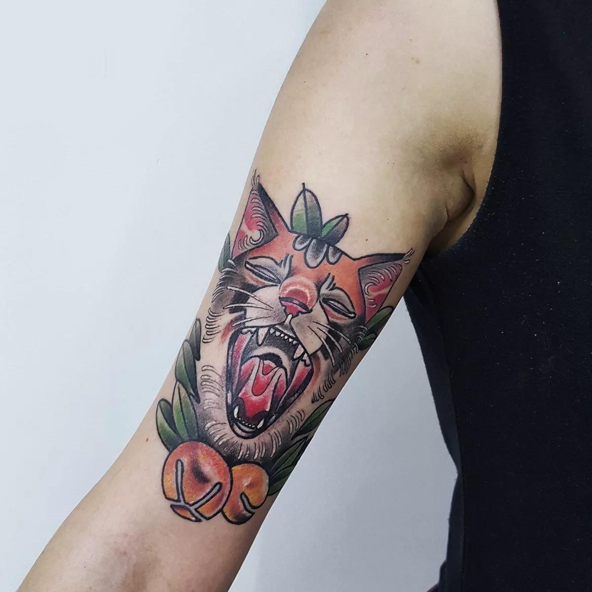 Классные и крутые татуировки на руках и на бицепсе - картинки, фото 13