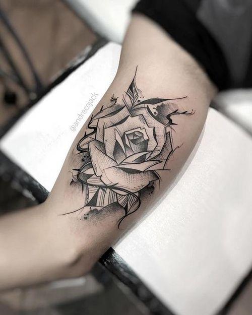 Классные и крутые татуировки на руках и на бицепсе - картинки, фото 3