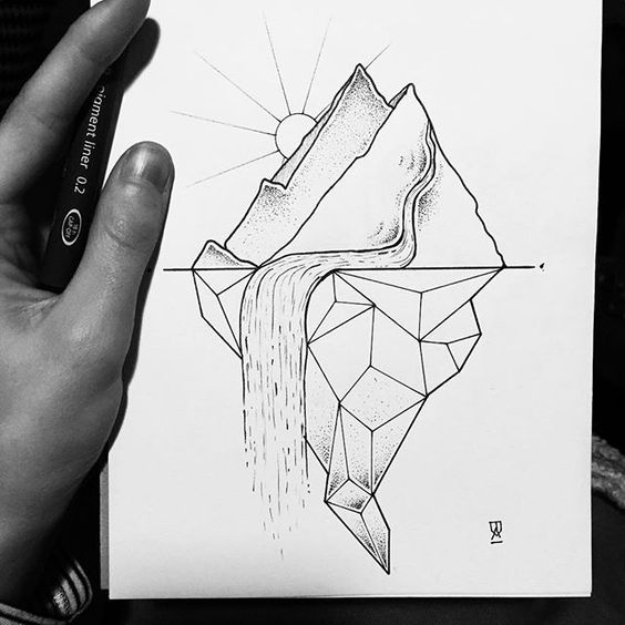 Классные картинки для срисовки тату и татуировки - подборка 13
