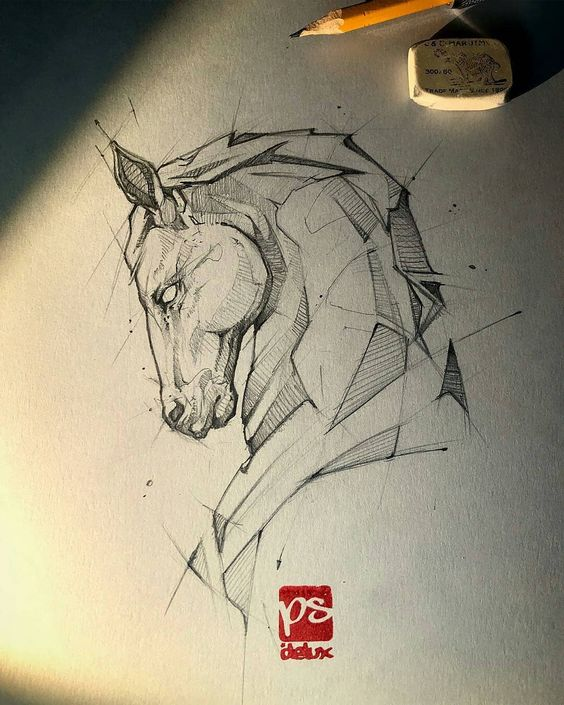Классные картинки для срисовки тату и татуировки - подборка 16