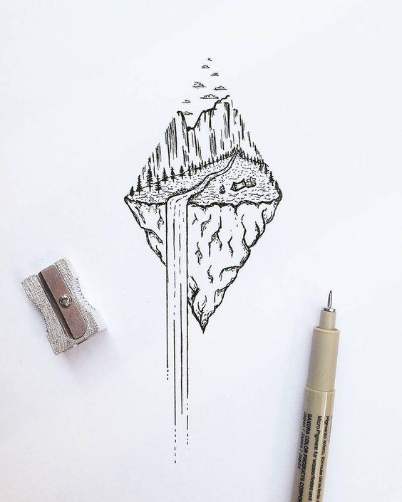Классные картинки для срисовки тату и татуировки - подборка 5