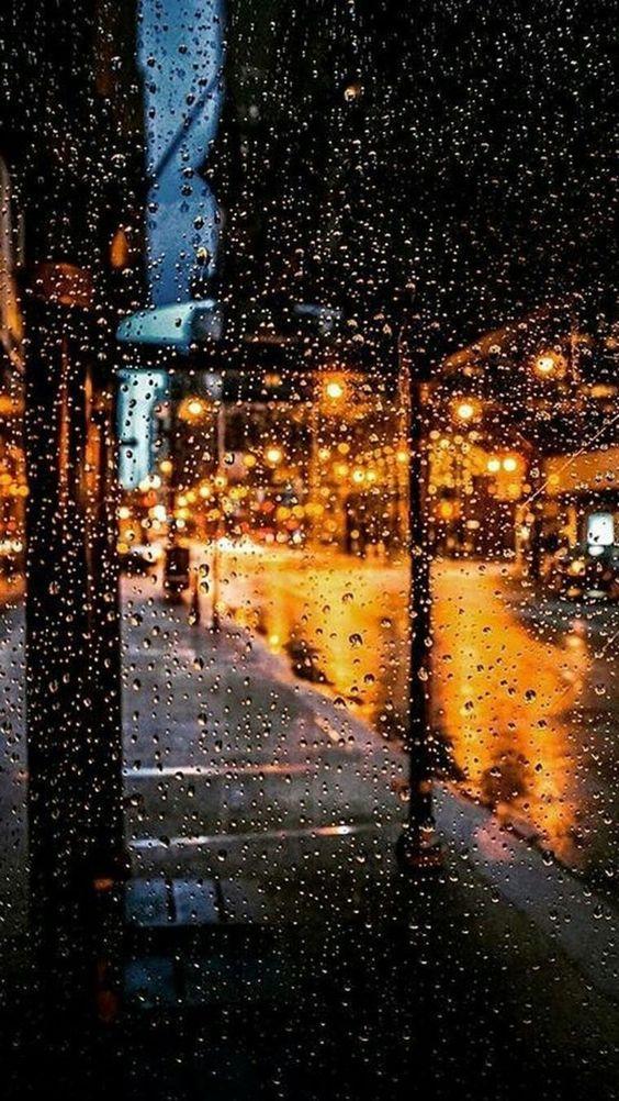 Красивые и удивительные картинки дождя для заставки - подборка 13