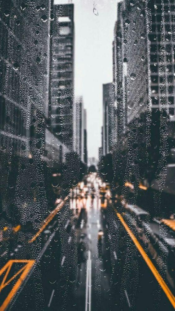 Красивые и удивительные картинки дождя для заставки - подборка 6