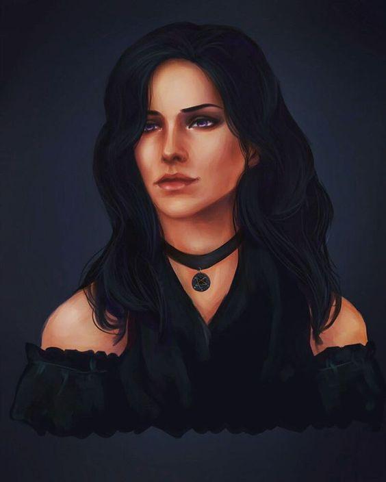 Красивые картинки, арт Йеннифэр из Венгерберга The Witcher 3 Wild Hunt 1