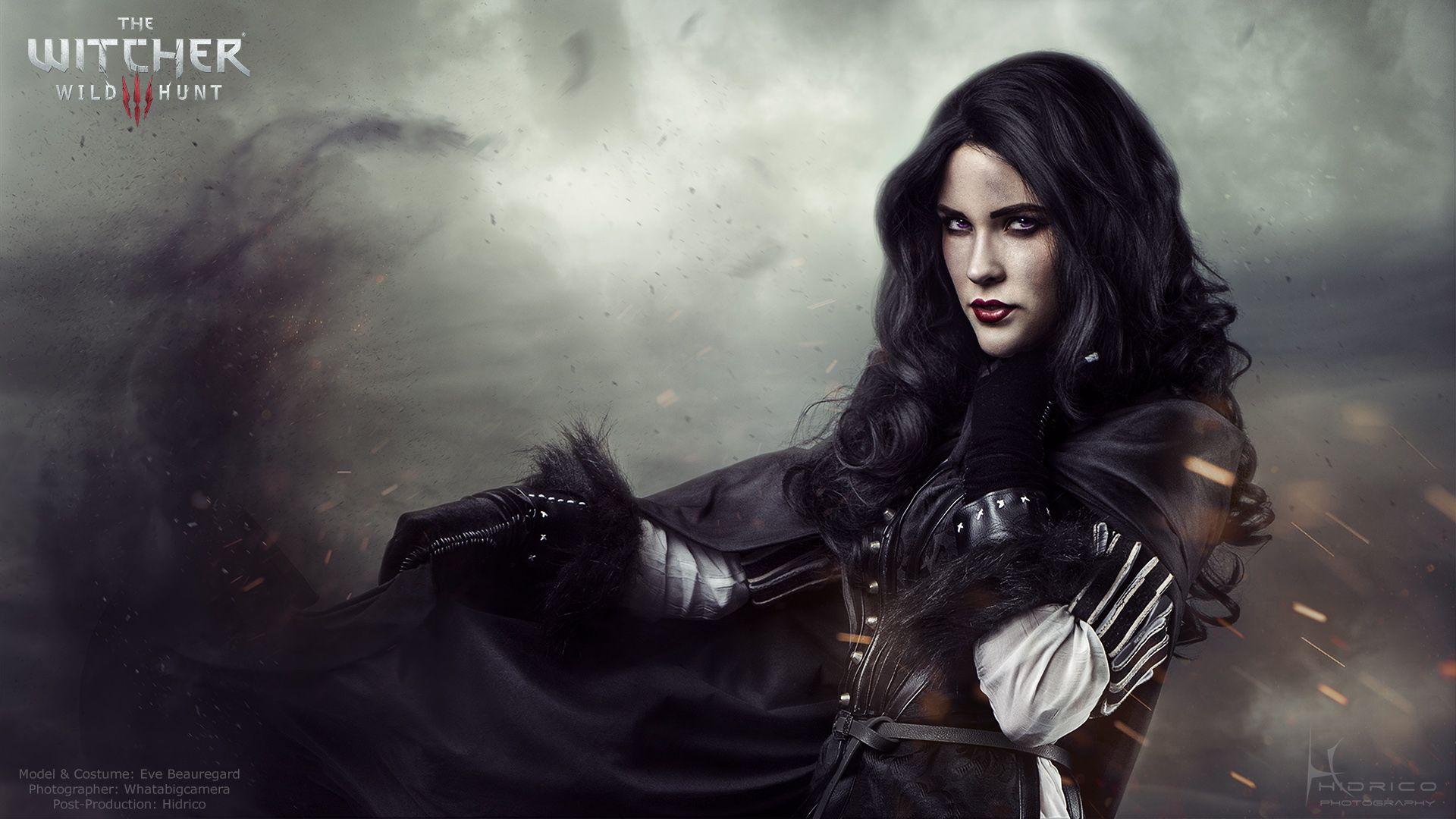 Красивые картинки, арт Йеннифэр из Венгерберга The Witcher 3 Wild Hunt 12