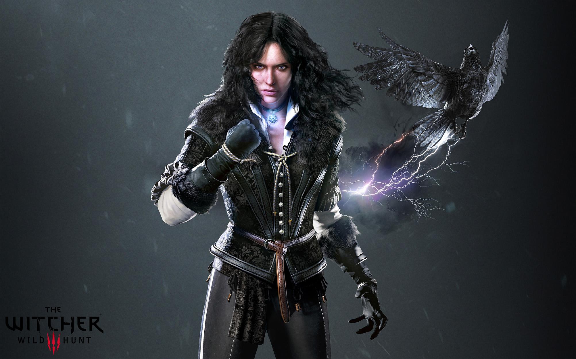Красивые картинки, арт Йеннифэр из Венгерберга The Witcher 3 Wild Hunt 7