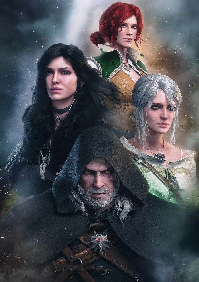 Красивые картинки, арт Йеннифэр из Венгерберга The Witcher 3 Wild Hunt 9