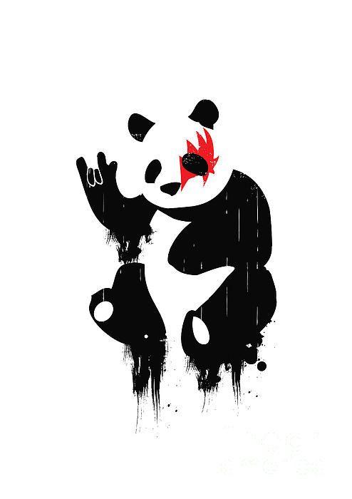 Красивые картинки и изображения панды, панд - подборка артов 11