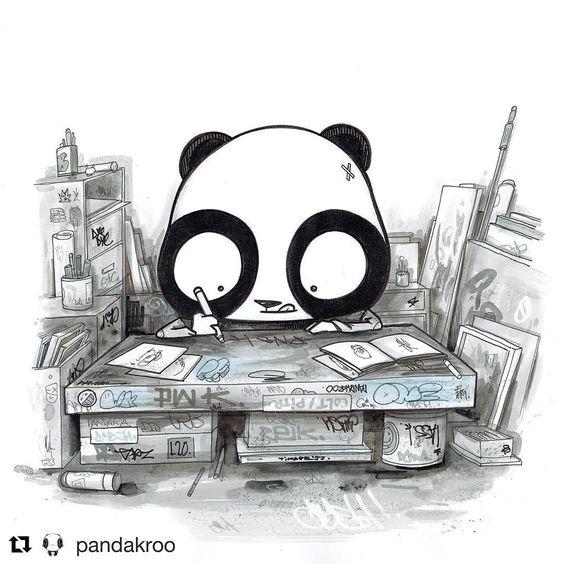 Красивые картинки и изображения панды, панд - подборка артов 5