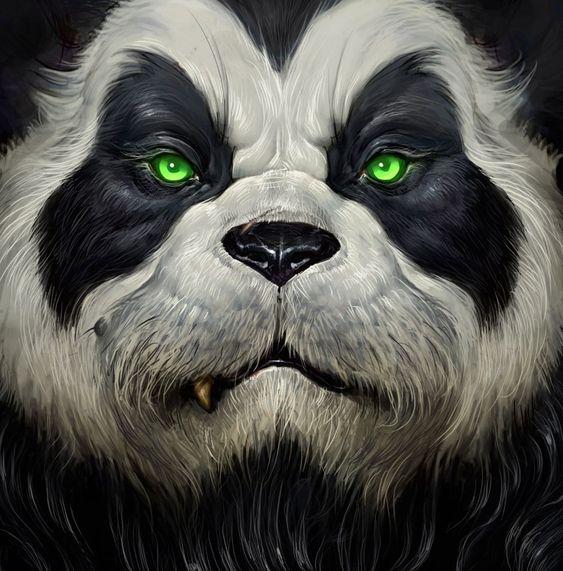 Красивые картинки и изображения панды, панд - подборка артов 6