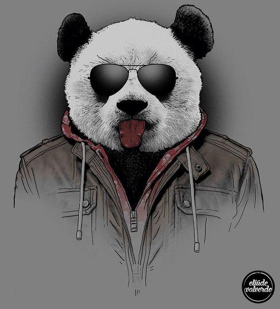 Красивые картинки и изображения панды, панд - подборка артов 9