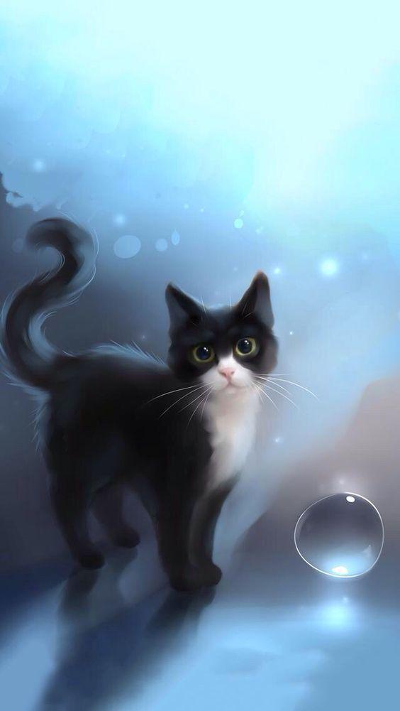 Красивые картинки котики и кошки на аву, аватарку - подборка 16