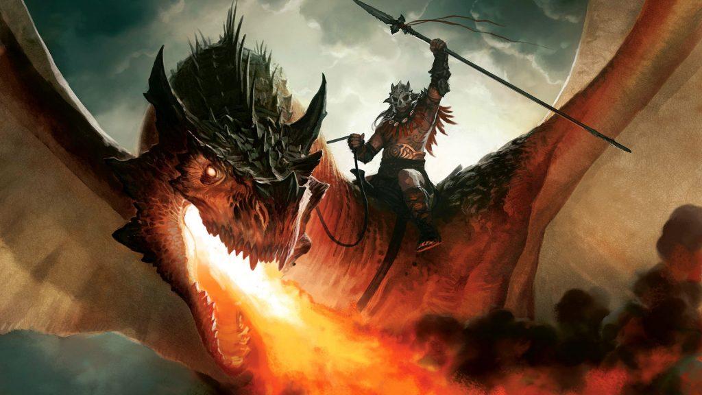 Красивые обои и картинки драконов для рабочего стола - подборка 1