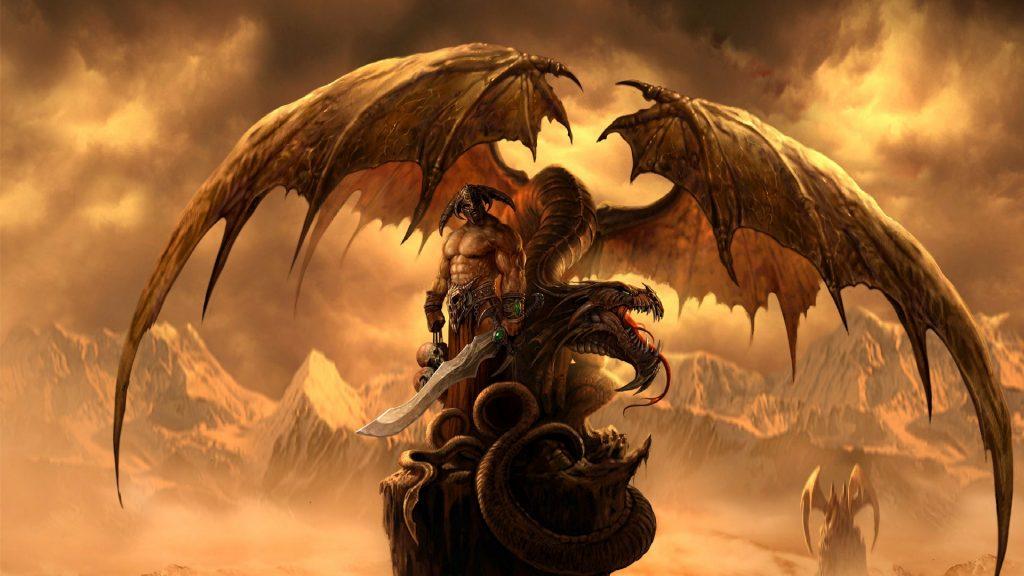 Красивые обои и картинки драконов для рабочего стола - подборка 13