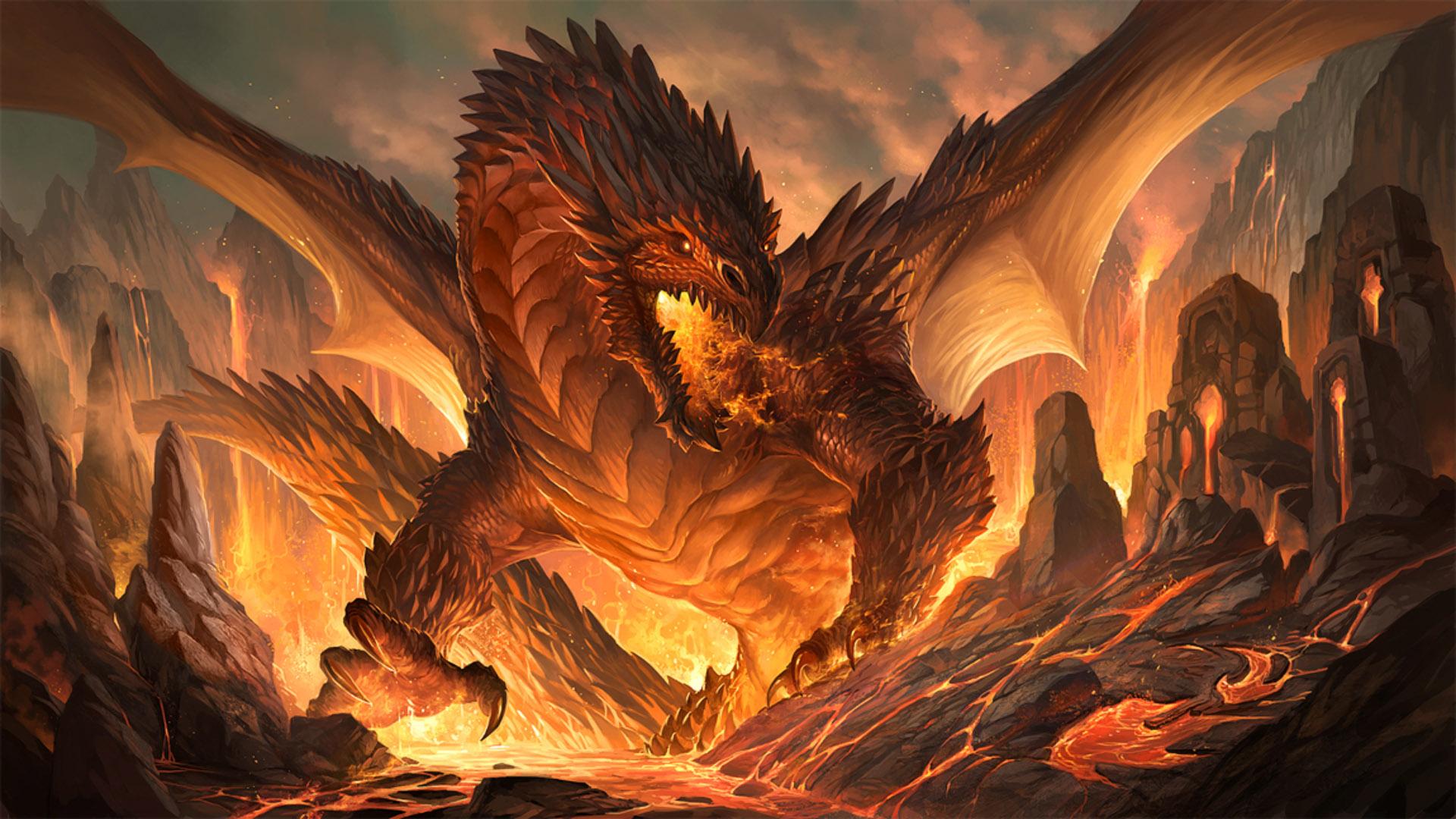 Красивые обои и картинки драконов для рабочего стола - подборка 15