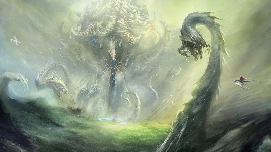 Красивые обои и картинки драконов для рабочего стола - подборка 17