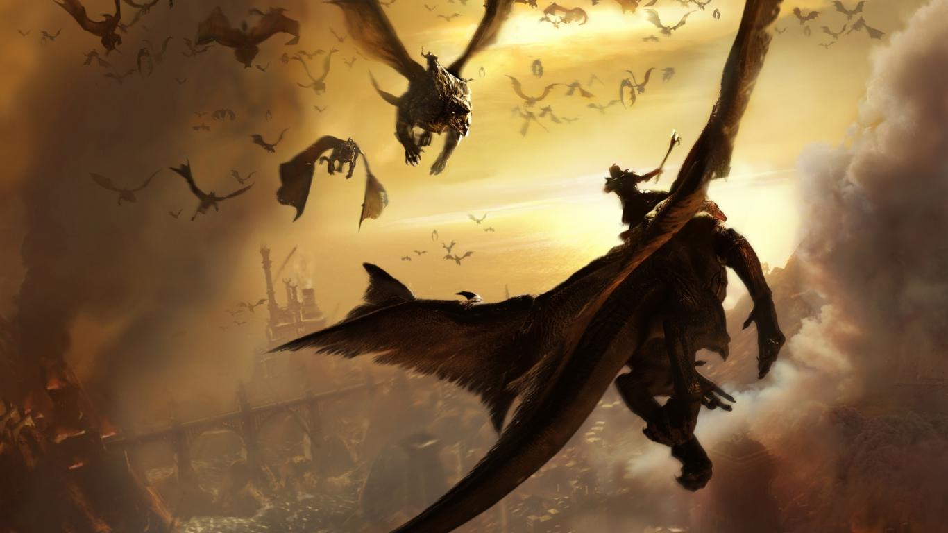 Красивые обои и картинки драконов для рабочего стола - подборка 18