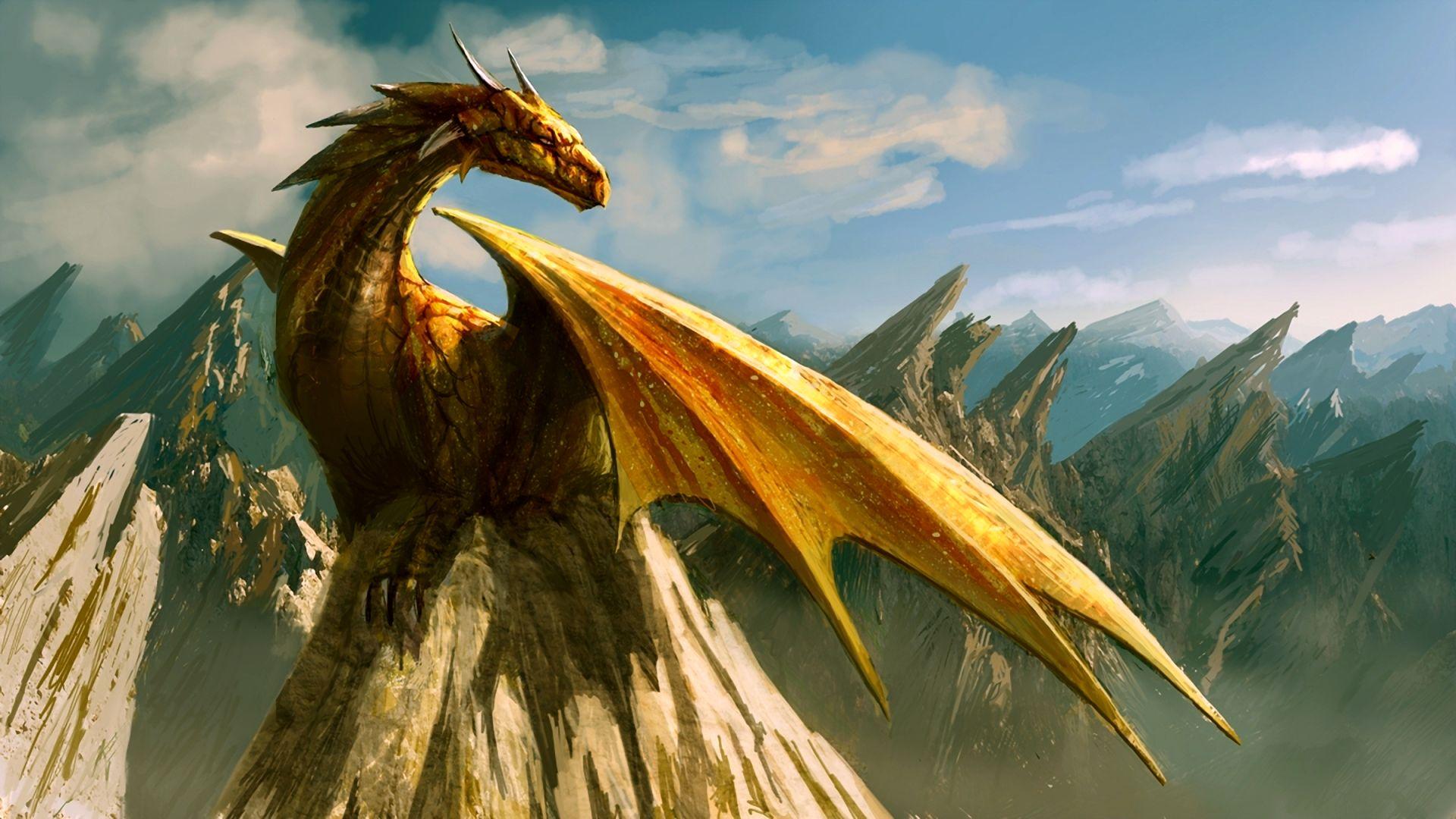 Красивые обои и картинки драконов для рабочего стола - подборка 2