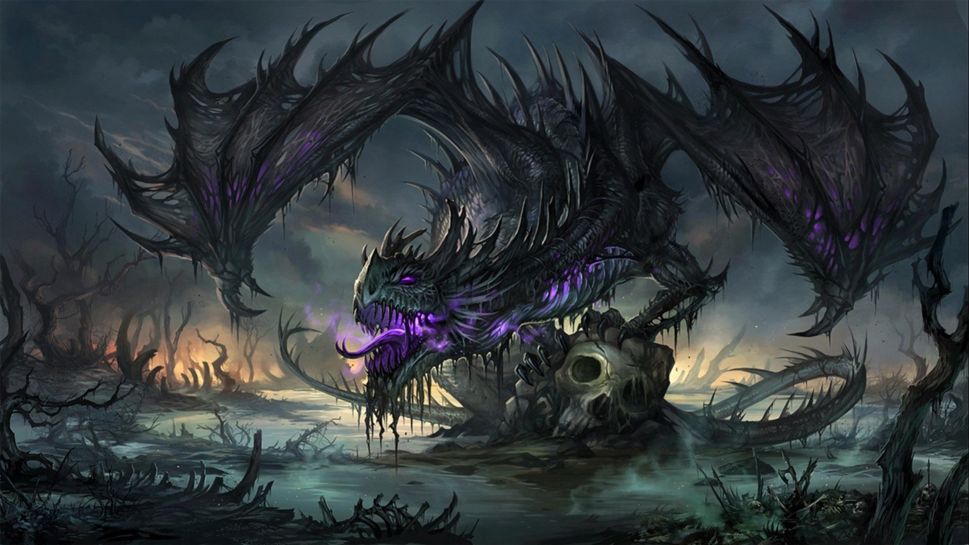 Красивые обои и картинки драконов для рабочего стола - подборка 6