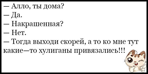 Лучшие смешные и прикольные анекдоты за февраль - сборка №136 10