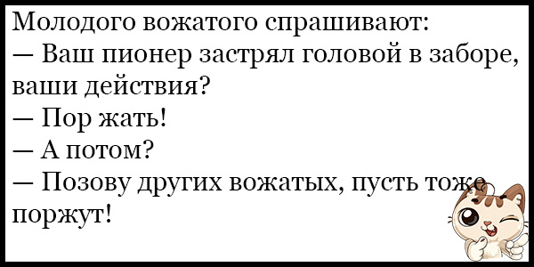 Лучшие смешные и прикольные анекдоты за февраль - сборка №136 8