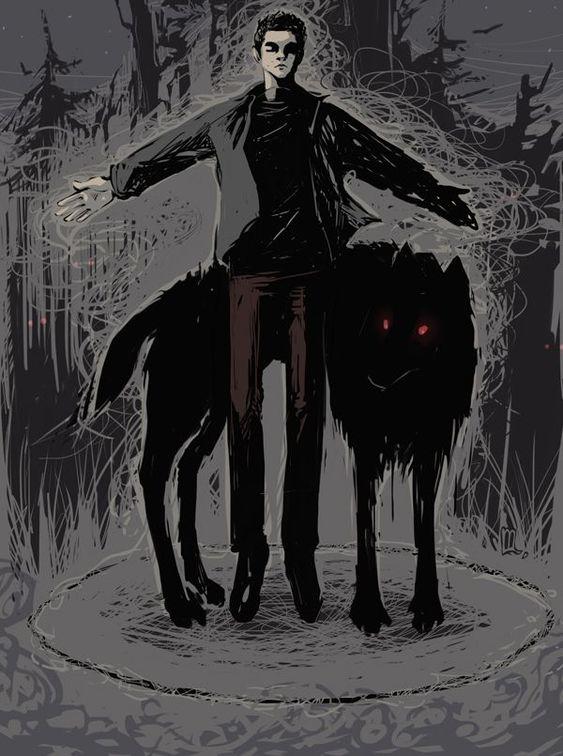 Сериал Волчонок - очень красивые картинки, арты, изображения 3