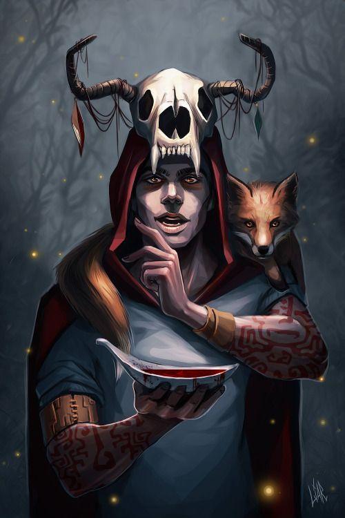 Сериал Волчонок - очень красивые картинки, арты, изображения 4
