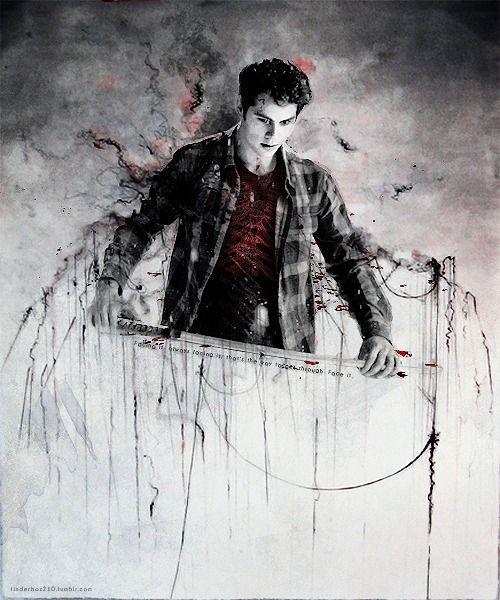 Сериал Волчонок - очень красивые картинки, арты, изображения 7