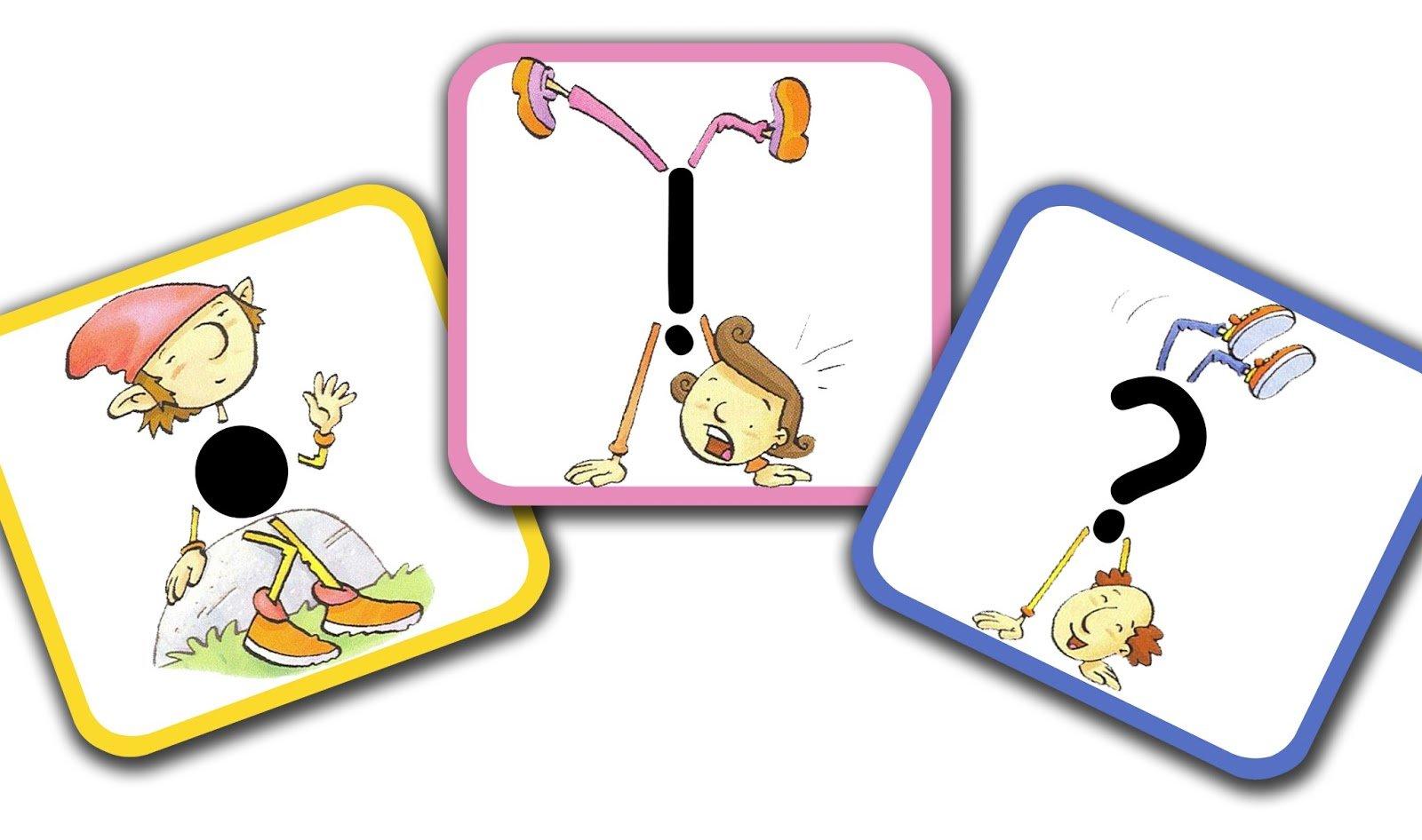 Картинки для детей знаки препинания - подборка 20 фото 7