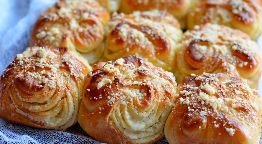 Красивые булочки из дрожжевого теста - фото, картинки 3