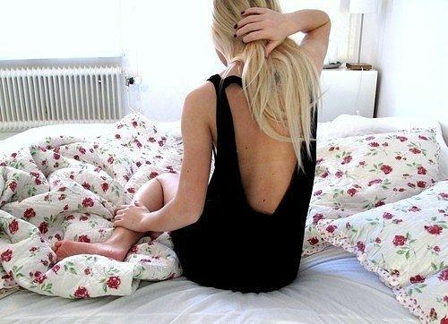 Смотреть фото красивых девушек со спины - подборка 4
