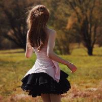Смотреть фото красивых девушек со спины - подборка 8