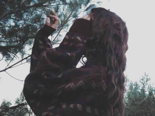 Фото девушек зимой со спины 15