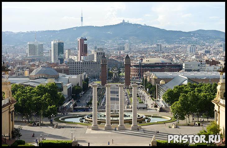 Барселона с высоты птичьего полета - фото 5