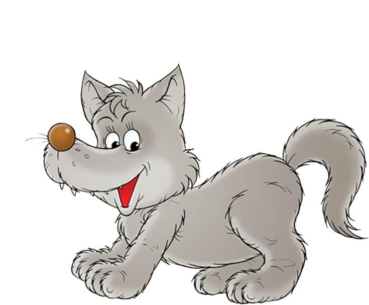 Картинка волка для детей, прикольные картинки волков - смотреть 7