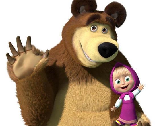 Картинки Маша и медведь для детей - прикольные и красивые 1