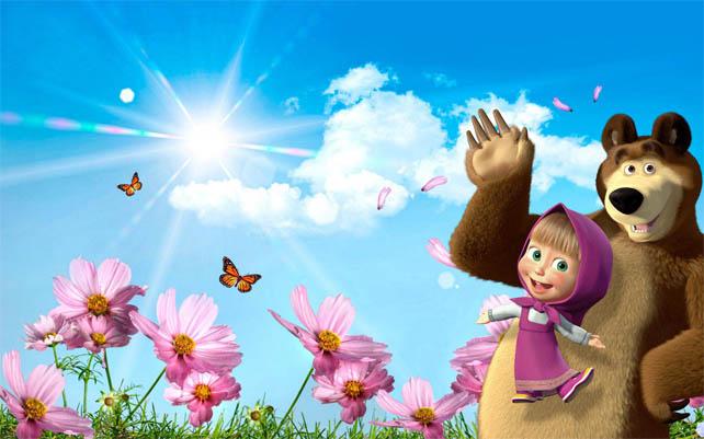 Картинки Маша и медведь для детей - прикольные и красивые 11