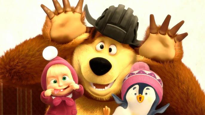 Картинки Маша и медведь для детей - прикольные и красивые 8