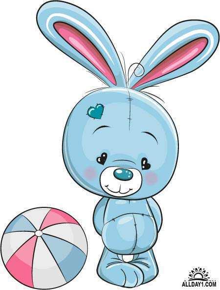 Картинки зайцев для детей, красивые картинки зайчиков для детей 4
