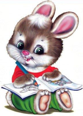 Картинки зайцев для детей, красивые картинки зайчиков для детей 6